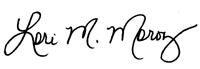 Lori Signature