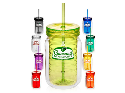 18 oz Double Wall Acrylic Tumbler