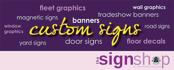Custom Signs – The Secret to Successful Signs