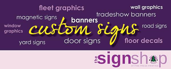 custom sign shop lexington sc